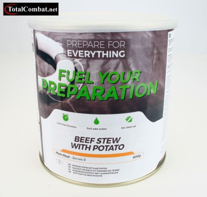 beef stew with potato survival food