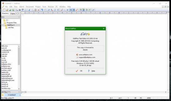 EditPlus Crack 5.5 Build 3581 + With Free License Key Download 2021