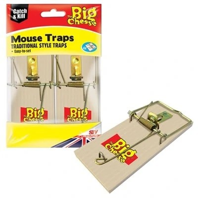 Big-Cheese-Wooden-Mouse-Trap-4-Pack
