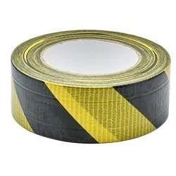 Draper-Hazard-Tape-Yellow-Black-50m