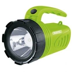 Draper-Rechargeable-LED-Spotlight-Torch-3w