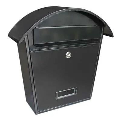Gardag-Arcade-Mail-Box-Black