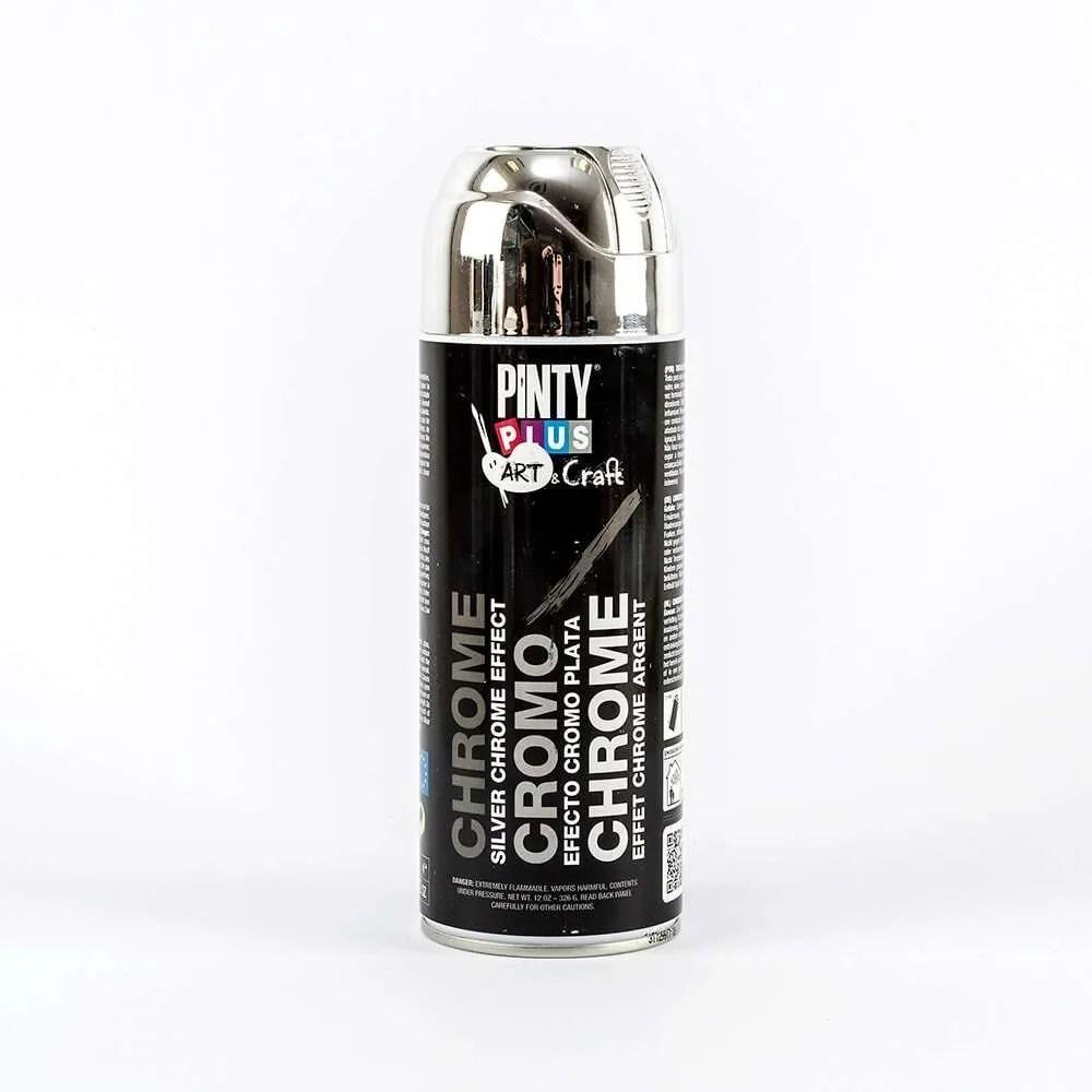 Pinty-Plus-Art-Silver-Chrome-Spray-Paint-400ml