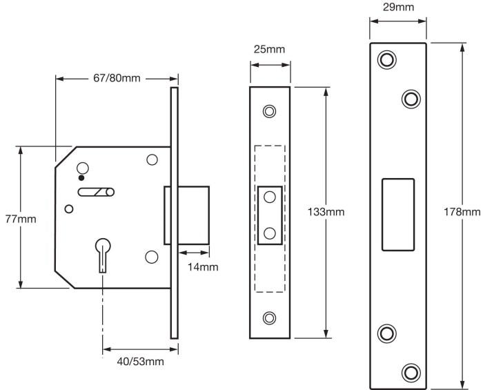 Union-5-Lever-Mortice-Deadlock-Brass-80mm-tech-spec