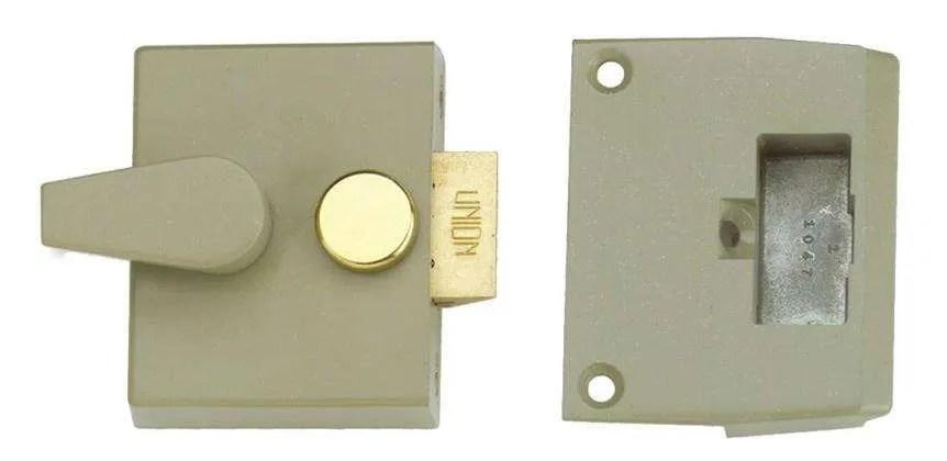 Union-Narrow-Cylinder-Night-Latch-Champagne-Gold-40mm