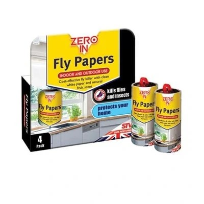 Zero-In-Fly-Papers-4-Pack