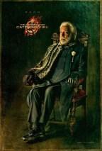 Donald Sutherland como Presidente Snow