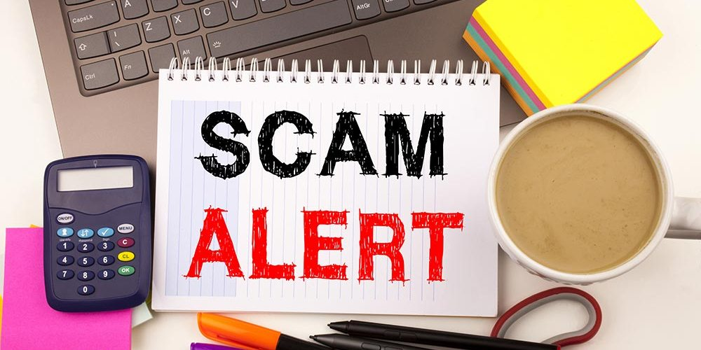 beware domain name scams