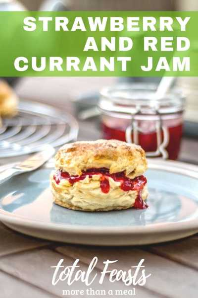 Strawberry Red Currant Jam