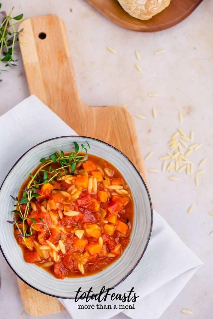 one-pot vegetable orzo soup