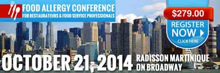 Manhattan Food Allergy Confab Gives Metro NYC Food Service