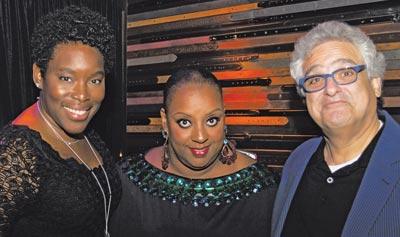 Tren'ness Woods-Black (Sylvia's Restaurant); Melba Wilson (Melba's Restaurant); Steve Gold (Master Purveyors)