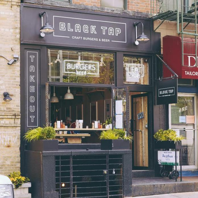 Black Tap's Soho location. Photo courtesy of Black Tap