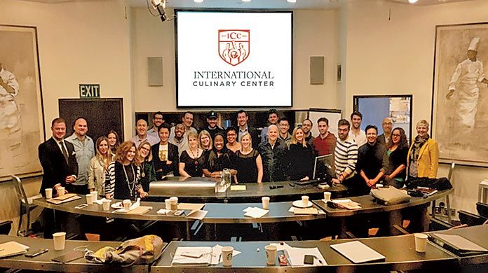 ICC® Culinary Entrepreneurship January 2016 Class