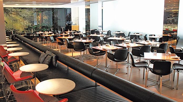 midtown museum eatery the modern gets makeover total
