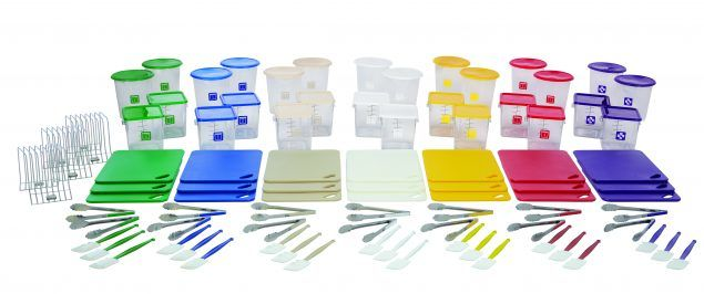 rubbermaid commercial products colorcoded foodservice system