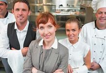 restaurant staff training session