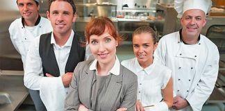 restaurant staff training session