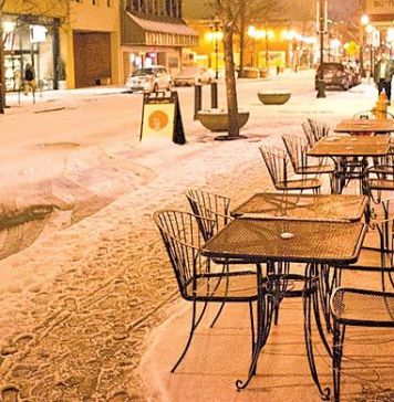 Outdoor Seating Early Spring