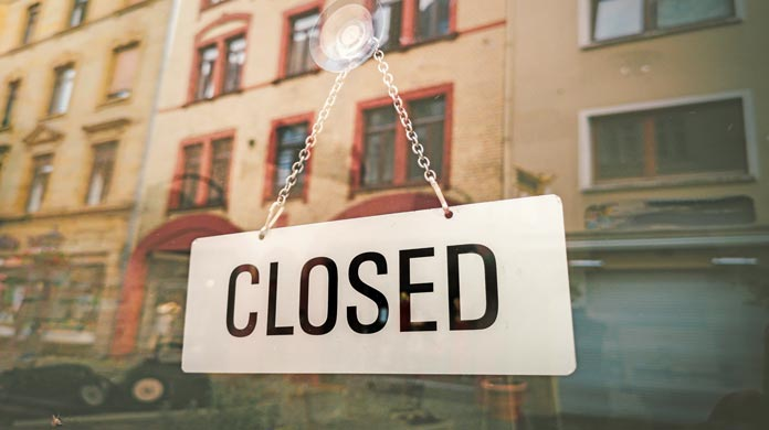 closing a restaurant