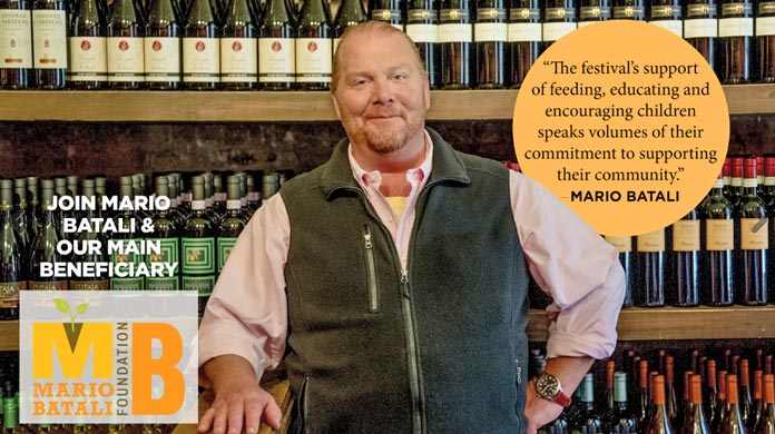 Mario Batali 2017 Greenwich Wine + Food Festival