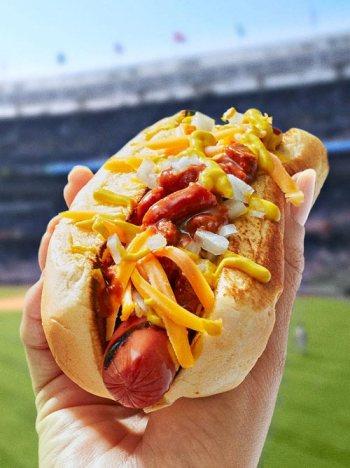 baseball stadium food safety