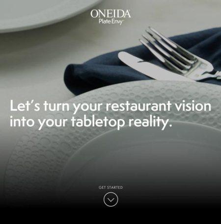 Oneida Plate Envy