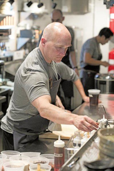 OKO Chef Brian Lewis