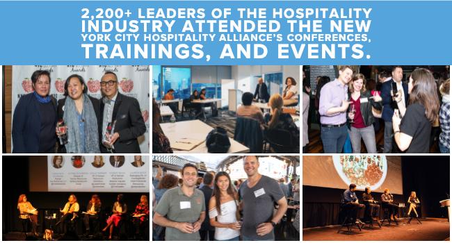 NYC Hospitality Alliance 2018 Recap