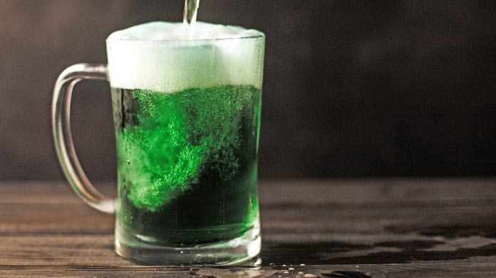 St. Patrick's Day Green Beer