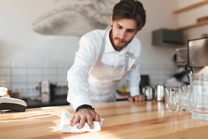 restaurant kitchen cleaning checklist - total food service