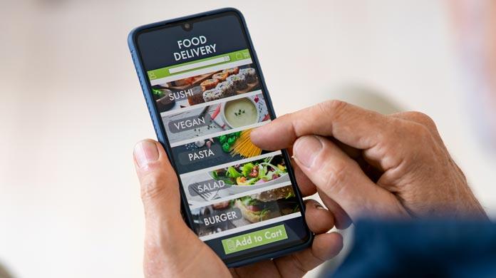 applications de livraison tierces mobiles