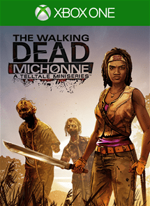 The Walking Dead Michonne - Ep. 1, In Too Deep xbox one game cover