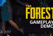The Forest - PSX 2017: Gameplay Demo | PS4