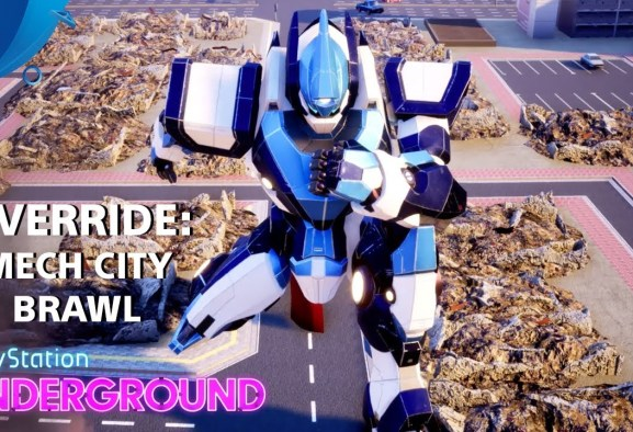 Override: Mech City Brawl Gameplay | PlayStation Underground