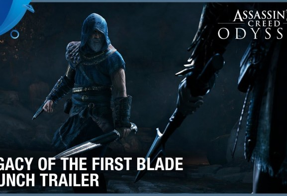 Assassin's Creed Odyssey - Legacy of the First Blade DLC Launch Trailer | PS4