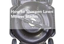 Easy way to Sharpen a Lawn Mower Blades