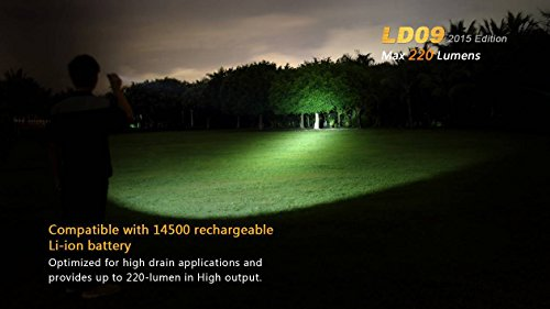 220 lumens flashlight