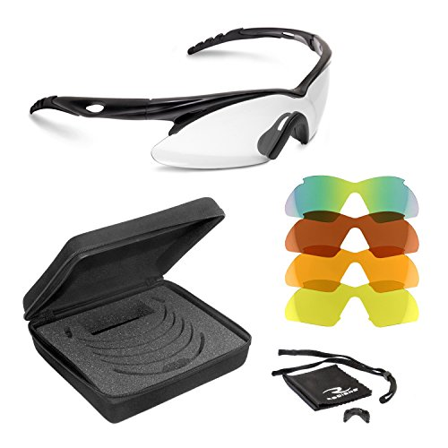 Impact resistant safety glasses