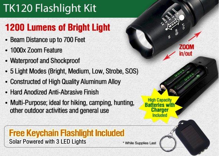 Ecogear flashlight review