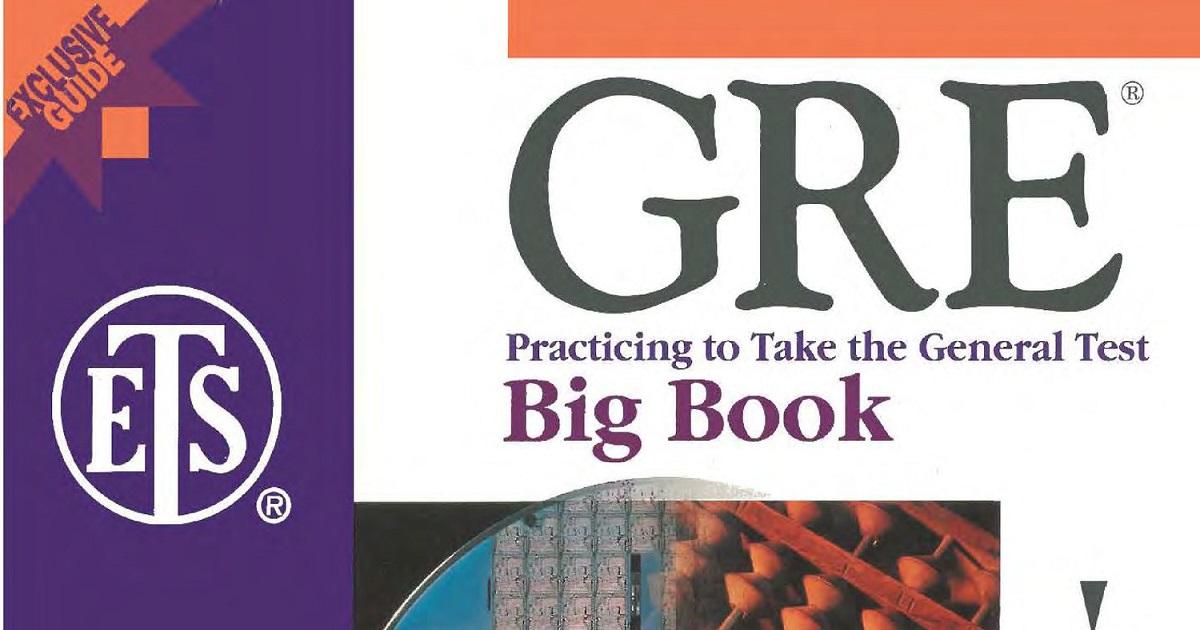 GRE Big Book PDF