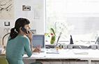 O home office nas operações de call centers