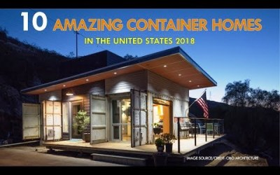 VIDEO: 10 Amazing Modern Shipping Container Prefabs and Modular Homes in the United States 2018