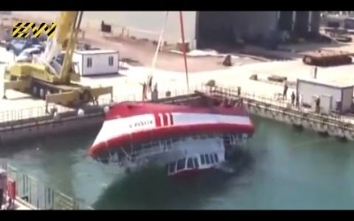 VIDEO: 10 Ship Launches Gone VERY Wrong