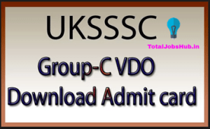 uksssc-vdo-admit-card
