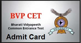 bvp-cet-admit-card