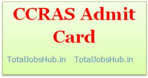 ccras-admit-card