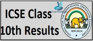 icse-board-class-10th-result