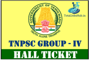 tnpsc-group-iv-hall-ticket