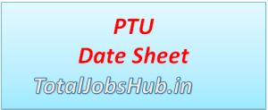 ptu-date-sheet